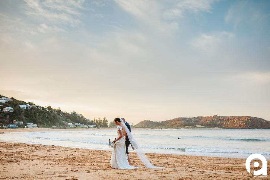 Palm Beach Wedding Sunset