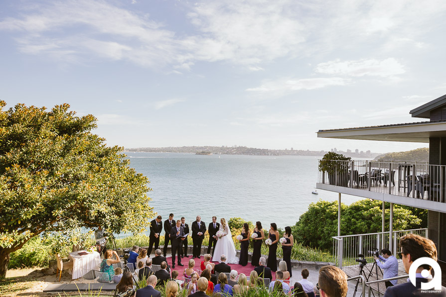 Sergeants Mess is located at Mosman with an amazing view over Sydney Harbour
