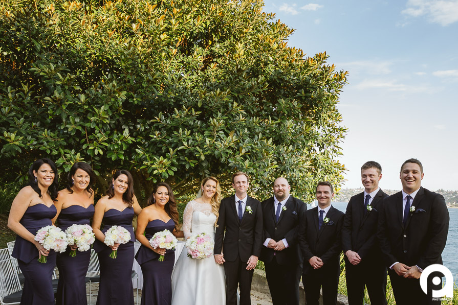 The bridal party photo.