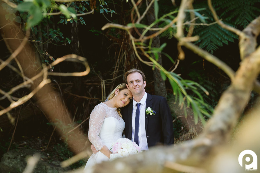 Although we didn't have a lot of time for our bridal photos, the grounds around Sergeants Mess were great!