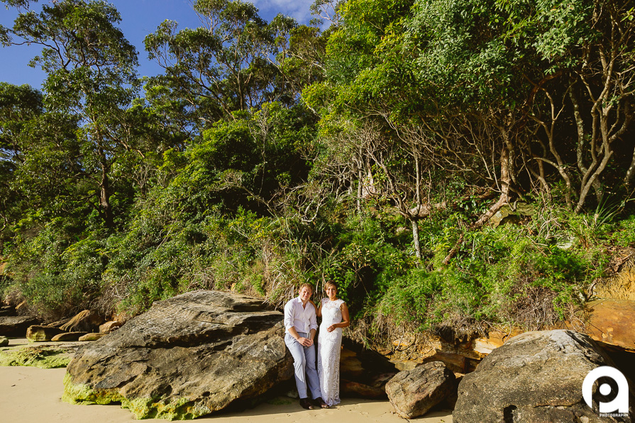 Backing onto a National Park along Bradley's Head, the little beach was a perfect place to chill out and relax.