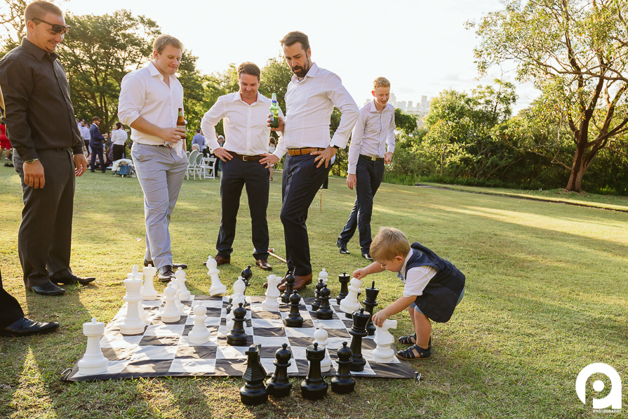 Although there was probably a decent game of chess going on here, Hugo had other ideas...