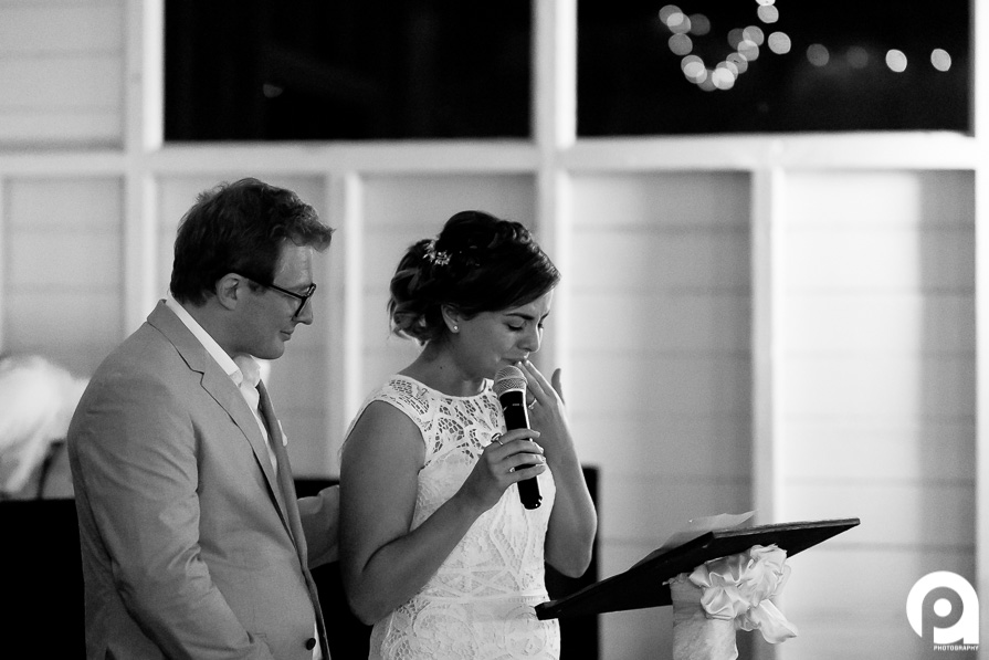 There were a few emotional times during the speeches, but all for the right reasons.