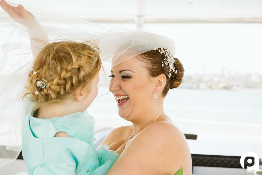 Sarah gets to see her beautiful daughter on her wedding day!