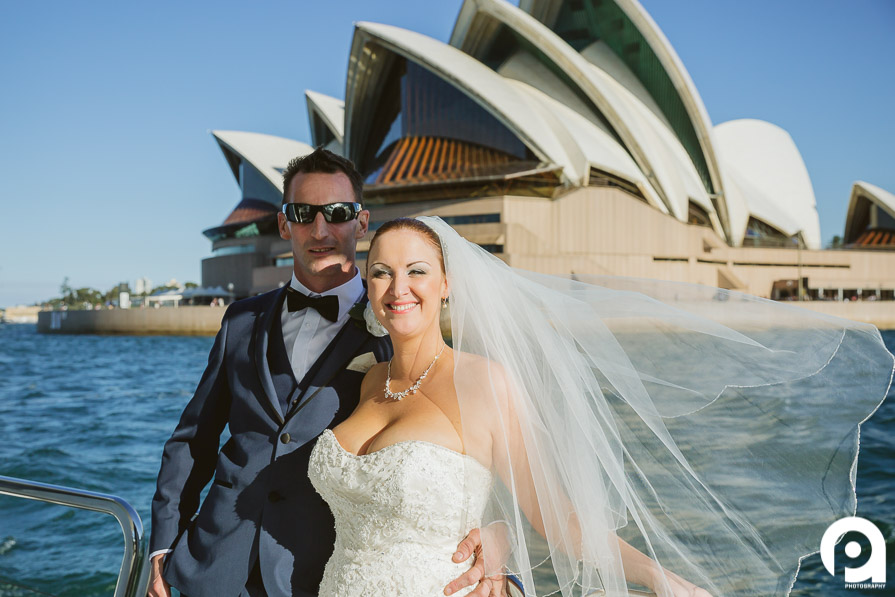 What a Sydney harbour wedding is all about!