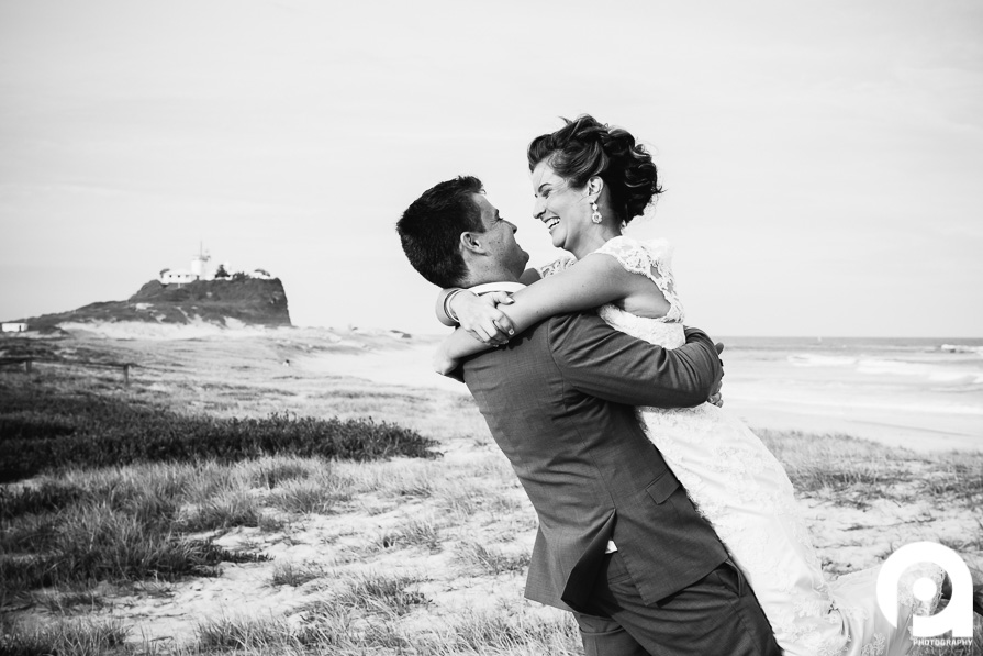Candid Wedding Photography on beach