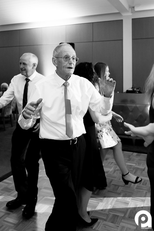 After the bride & groom, this guy was the life of the party! He was dancing with anybody and outlasted the youngsters on the dance floor!